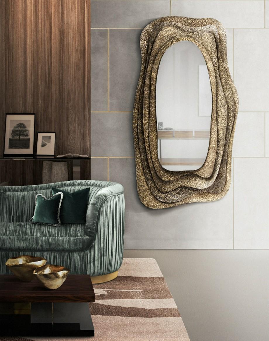 Ideas para Decorar: Espejos de lujo para poneres en una habitación ideas para decorar Ideas para Decorar: Espejos de lujo para poneres en una habitación Kumi Mirror