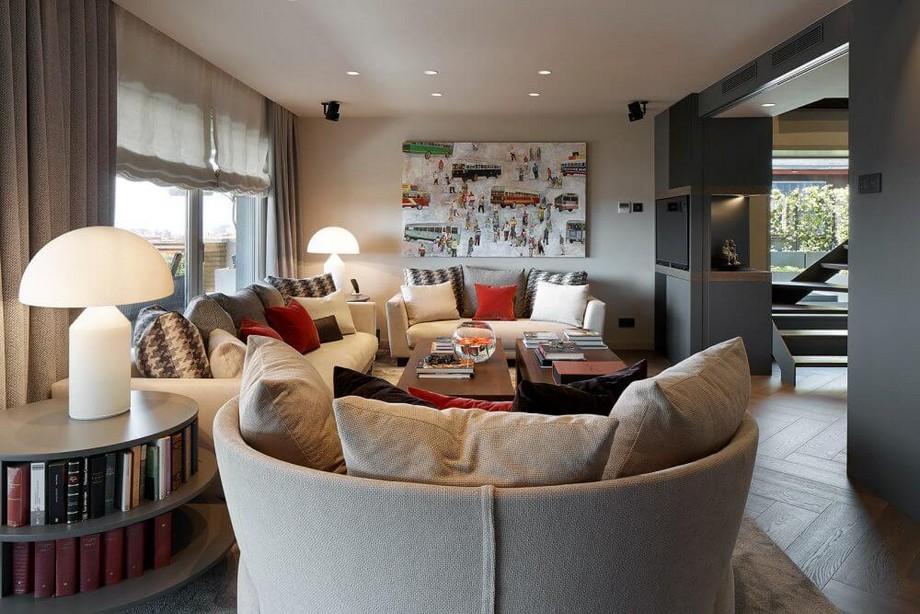 Molins Design: un estudio de interiorismo de lujo  Molins Design: un estudio de interiorismo de lujo arquitectura interior vivienda urbana atico duplex barcelona 05