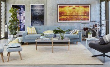 Tendencias de Lujo: Ideas para una sala de estar contemporánea