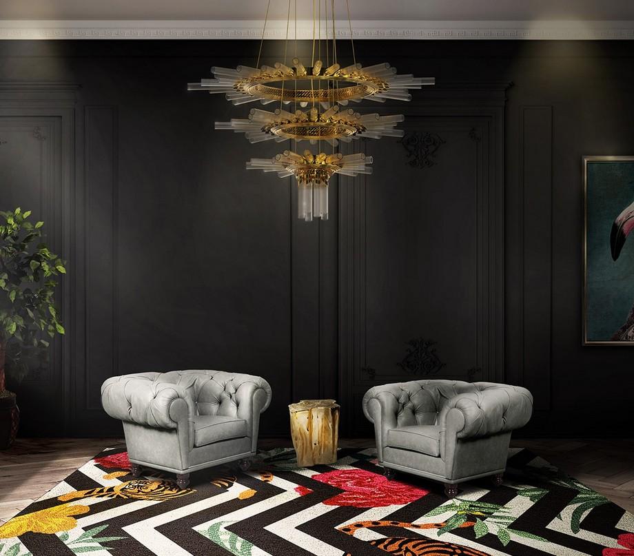 Tendencias para Decorar: Ideas para tú sala de estar de lujo tendencias para decorar Tendencias para Decorar: Ideas para tú sala de estar de lujo rug society 1