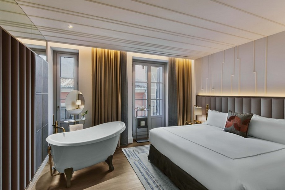 Hotel de Lujo: El Glamour en Madrid de un Hotel de los anõs 80 hotel de lujo Hotel de Lujo: El Glamour en Madrid de un Hotel de los anõs 80 Rockwell Group Revived the 1800s Glamour of Gran Hotel Ingl  s Madrid 5