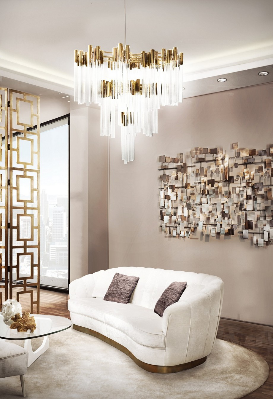 Ideas para Decorar: Tendencias de Illuminación de lujo 2019 ideas para decorar Ideas para Decorar: Tendencias de Illuminación de lujo 2019 burj chandlier