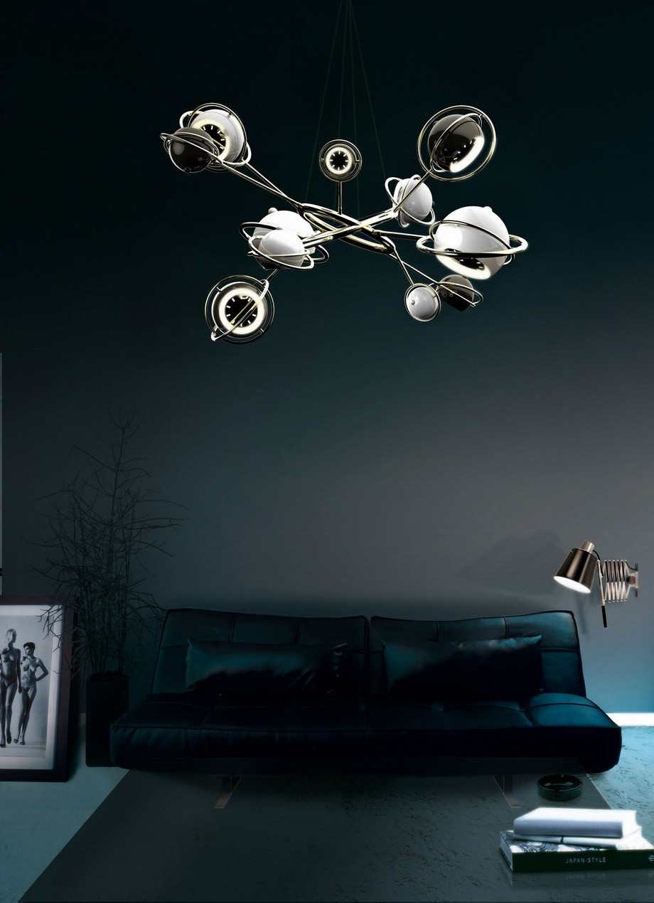 Ideas para Decorar: Tendencias de Illuminación de lujo 2019 ideas para decorar Ideas para Decorar: Tendencias de Illuminación de lujo 2019 cosmo suspension lamp