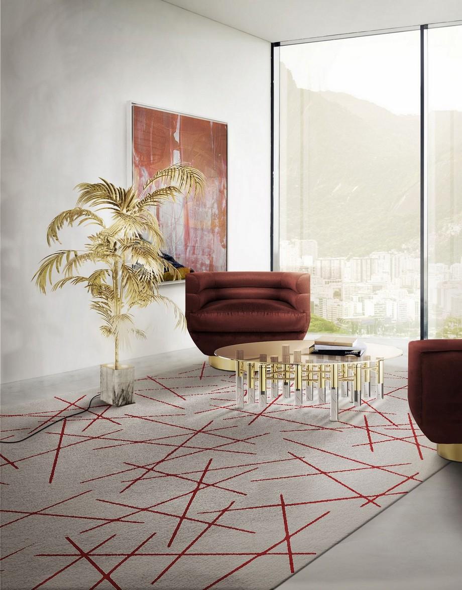ideas para decorar Ideas para Decorar: Mesas de centro medio siglo de lujo konstantin