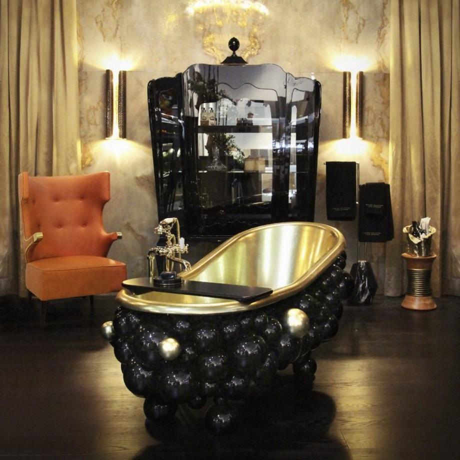 Ideas para Decorar: Tonos negros para una decoracion de cuarto de baño ideas para decorar Ideas para Decorar: Tonos negros para una decoracion de cuarto de baño 7 768x768