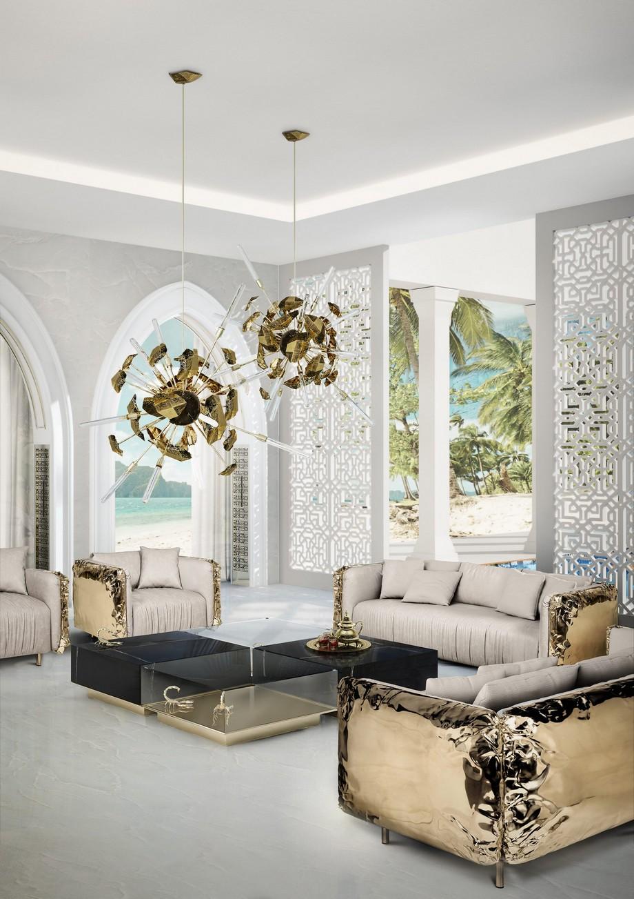 Ideas para Decorar: Mesas de centro de lujo para proyectos perfectos ideas para decorar Ideas para Decorar: Mesas de centro de lujo para proyectos perfectos ambience arabe