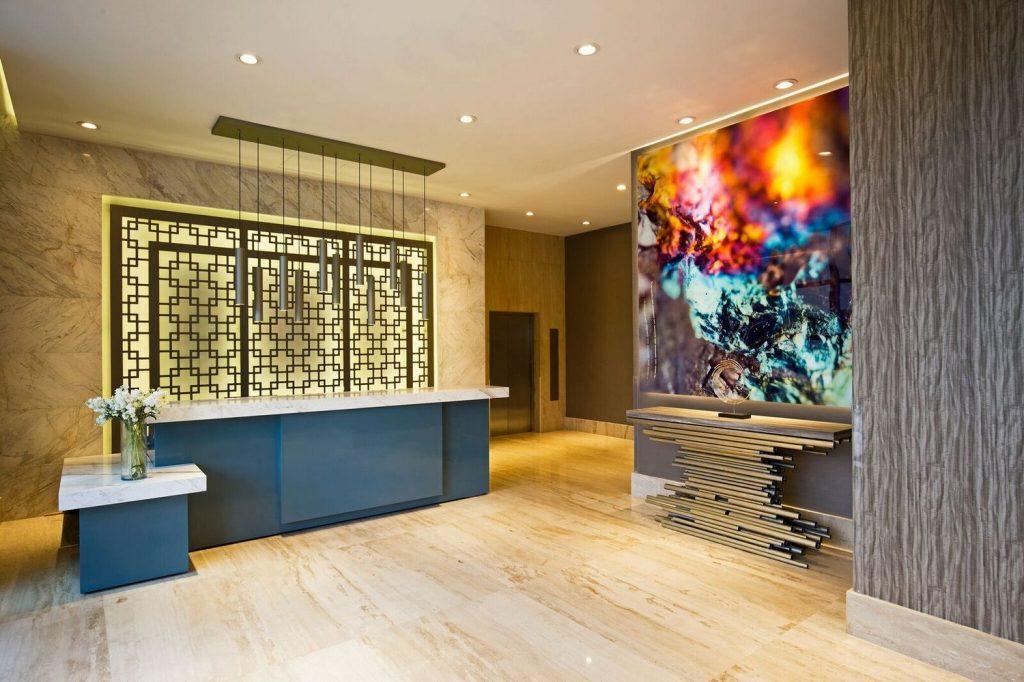 Interiorismo de lujo: UNUO una empresa con proyectos lujuosos interiorismo de lujo Interiorismo de lujo: UNUO una empresa con proyectos lujuosos lobby santafe 00004 1024x682