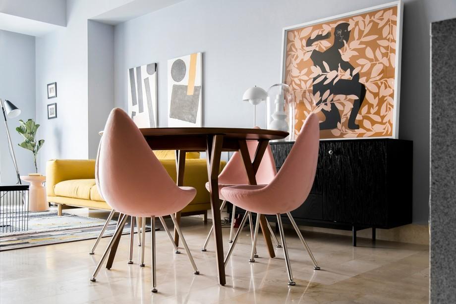 Piezas unicas en el Interiorismo de lujo es un elemento que puede combinar muy bien! A-G studio han creado un ambiente para el ficionados en obras de arte. Puedes mirar y ver muchas piezas y objetos que cambian una persona, desde el globo hasta la estatua, con la mesa hecha en madera, matraces son elementos que puedes tener en tú decoración en casa, escritorio, empresa, es una decoración unica. interiorismo de lujo Interiorismo de lujo: A-G un studio de proyectos lujuosos en México 4