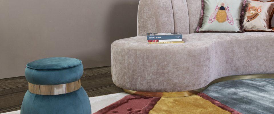 Sofas de lujo: Ideas de sala de estar para proyectos lujuosos