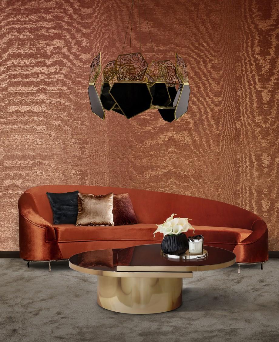 Sofas de lujo: Ideas de sala de estar para proyectos lujuosos sofas de lujo Sofas de lujo: Ideas de sala de estar para proyectos lujuosos vamp sofa koket projects